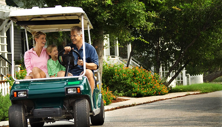 Insuring yout Golf Cart